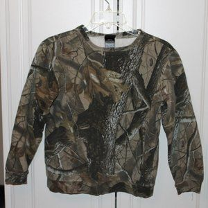 Boys camo sweatshirt